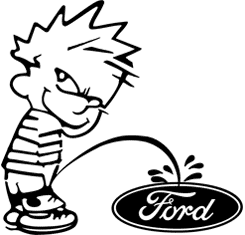 Calvin - Pee On Ford